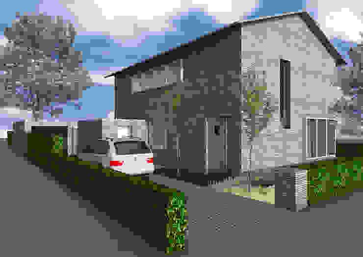 Dick van Aken Architectuur 現代房屋設計點子、靈感 & 圖片 石器 Grey