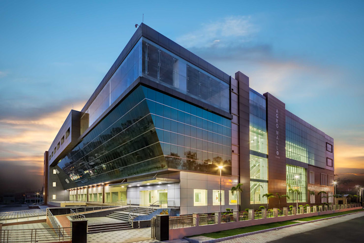 Agro Mall Panchkula Modern hospitals by Inner Value Architects Modern