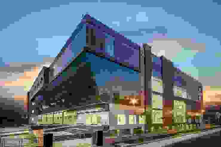 Mr.Sandhu Resi Mohali Modern offices & stores by Inner Value Architects Modern