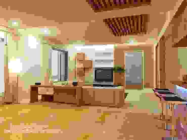 SBI HNI Branch Modern living room by Inner Value Architects Modern