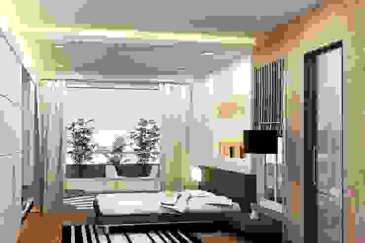 SBI HNI Branch Modern style bedroom by Inner Value Architects Modern