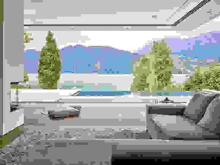 Backraum Architektur Ruang Keluarga Modern