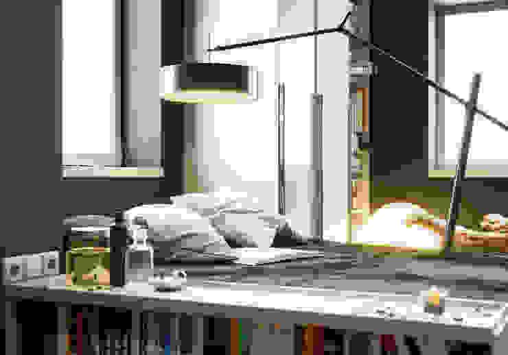 ANASAYFA RESİMLERİ Modern Yatak Odası GN İÇ MİMARLIK OFİSİ Modern