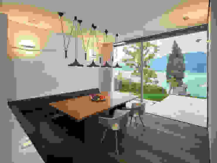 Backraum Architektur Ruang Makan Modern Kayu