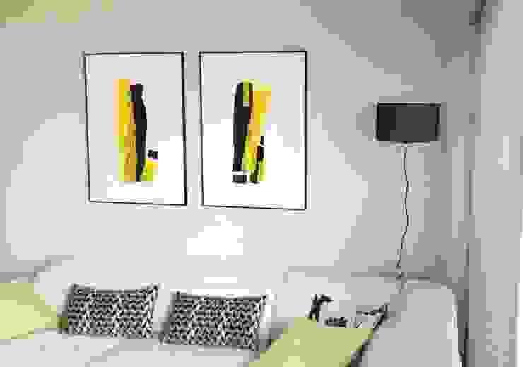 Habitaka diseño y decoración SalonAccessoires & décorations Jaune