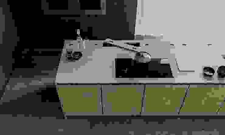 mutfak02 Modern Mutfak GN İÇ MİMARLIK OFİSİ Modern