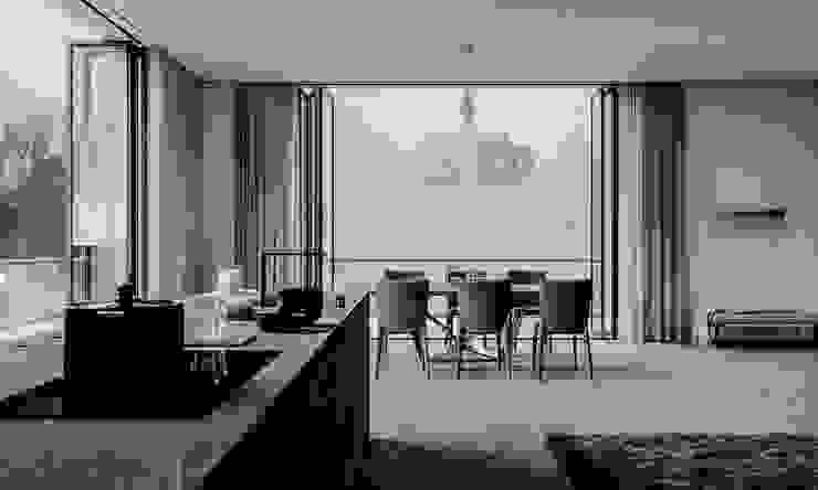 mutfak02 Modern Yemek Odası GN İÇ MİMARLIK OFİSİ Modern