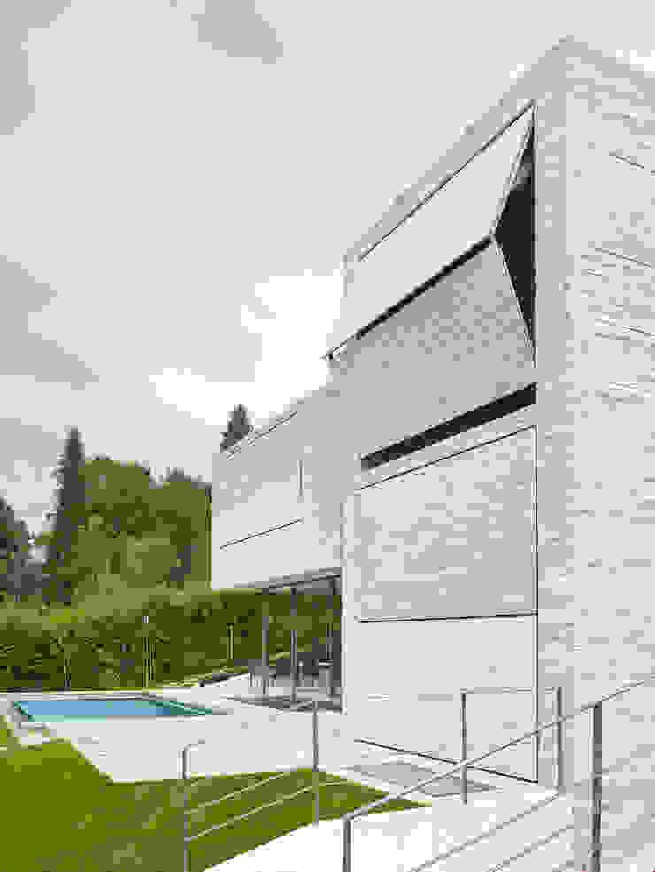 Backraum Architektur Rumah Modern Batu Beige