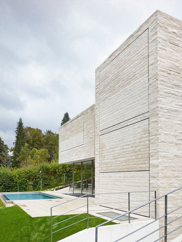 Backraum Architektur Rumah Modern Batu