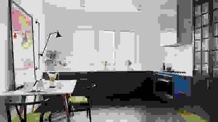 Cocinas de estilo moderno de GN İÇ MİMARLIK OFİSİ Moderno