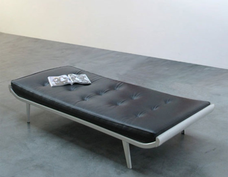 Auping Cleopatra Daybed by Dick Cordemijer de NLstudio Moderno Piel Gris