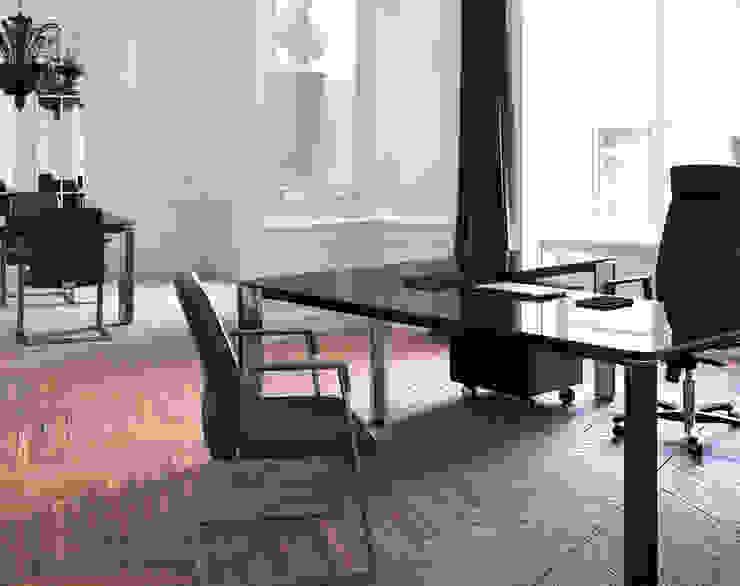 Scrivania angolare idee per l 39 ufficio e la cameretta for Design per l ufficio