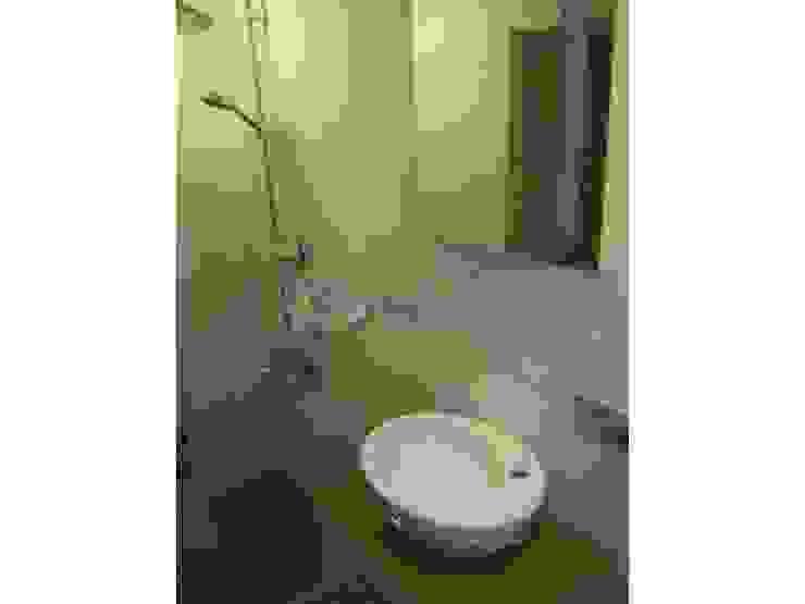 İzmir Narlıdere Arıkent Sitesi E Blok bulunan dairenin anahtar teslim komple daire tadilatı Modern Banyo Lens İnşaat Elektrik Elektronik San.Tic.Ltd.Şti. Modern Bambu Yeşil