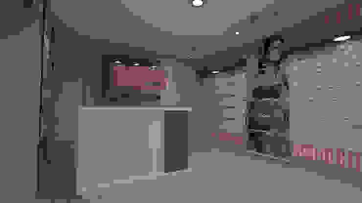 diseño de tienda ropa imterior de Dies diseño de espacios Moderno