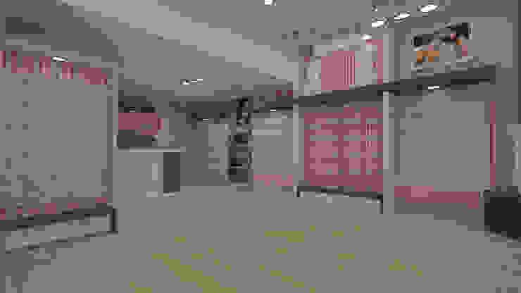 Diseño de tienda ropa interior de Dies diseño de espacios Moderno