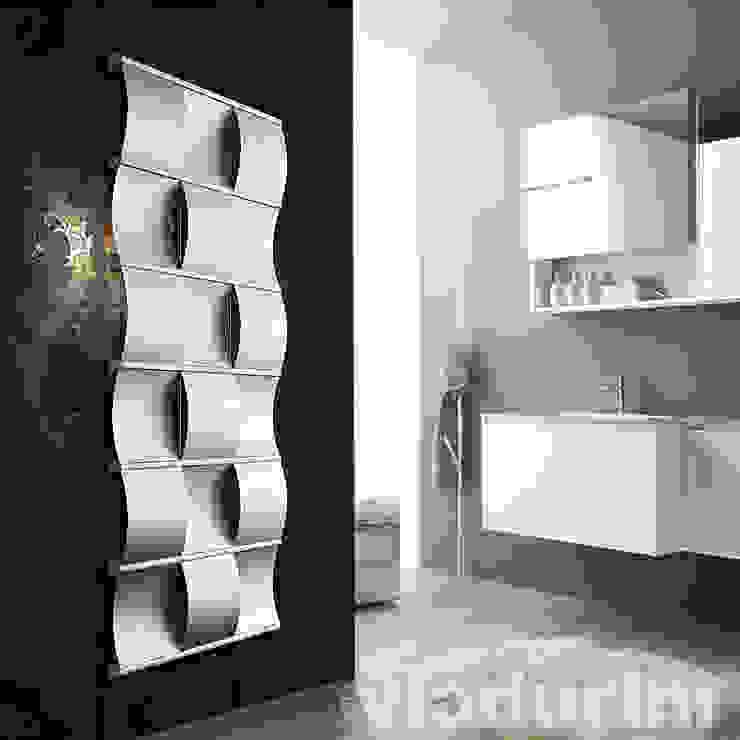 Termoarredo Curval Idraulico di Design by Irsap di Viadurini Moderno