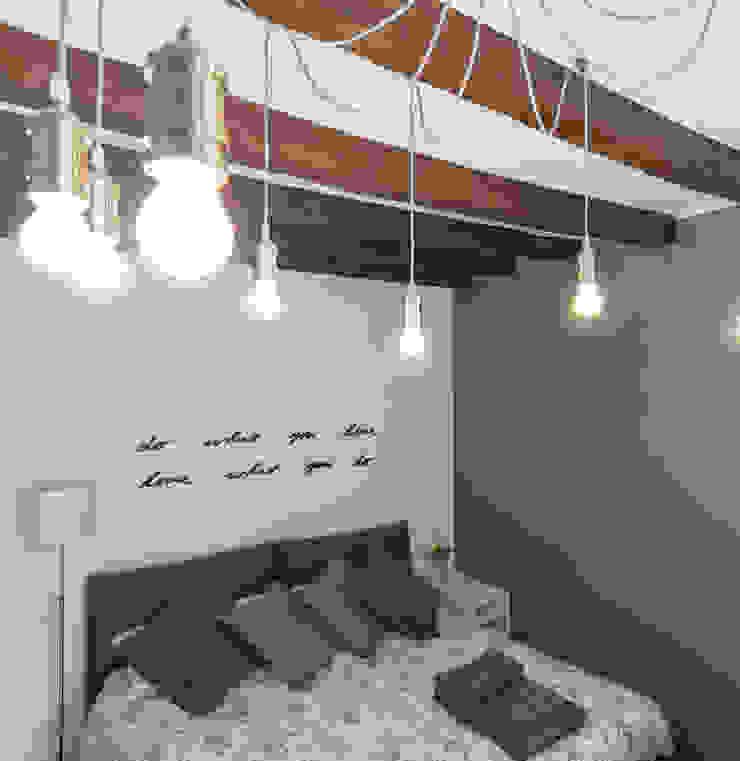 Chambre moderne par studio ferlazzo natoli Moderne