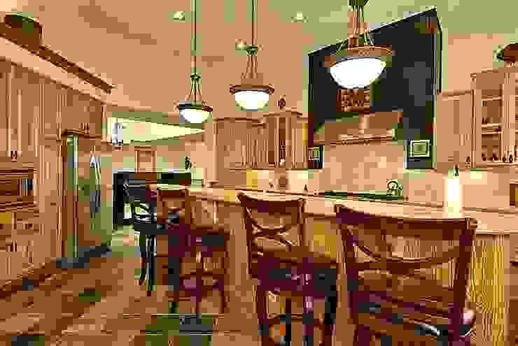 main kitchen Modern Kitchen by Outer Banks Renovation & Construction Modern