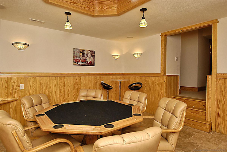 poker room Modern Study Room and Home Office by Outer Banks Renovation & Construction Modern
