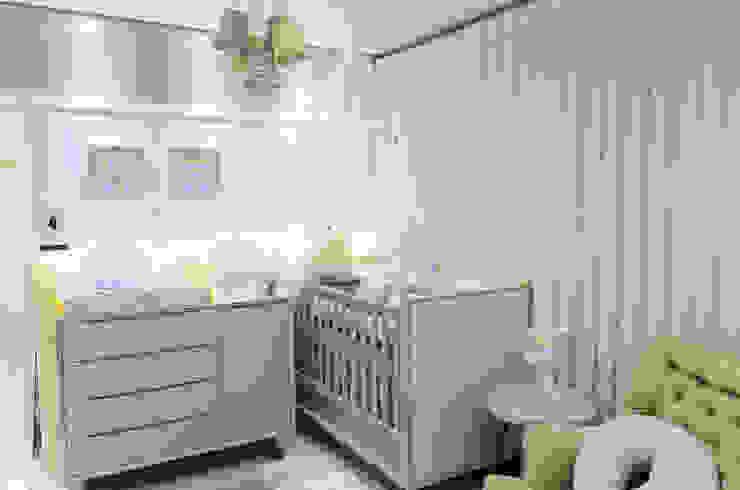 Dormitorios infantiles de estilo moderno de PRISCILLA BORGES ARQUITETURA E INTERIORES Moderno