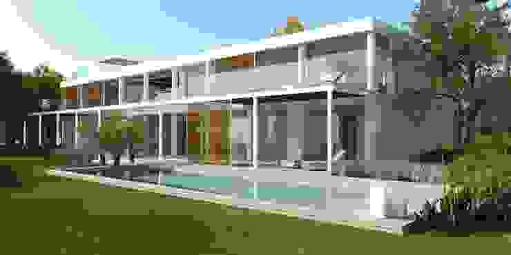 Refurbishment and extention of a single family house in Calvia by Tono Vila Architecture & Design