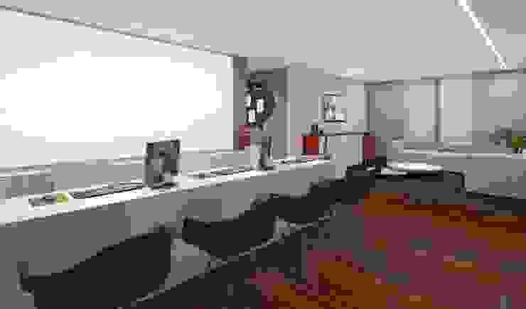 Modern schools by RAFE Arquitetura e Design Modern Wood Wood effect