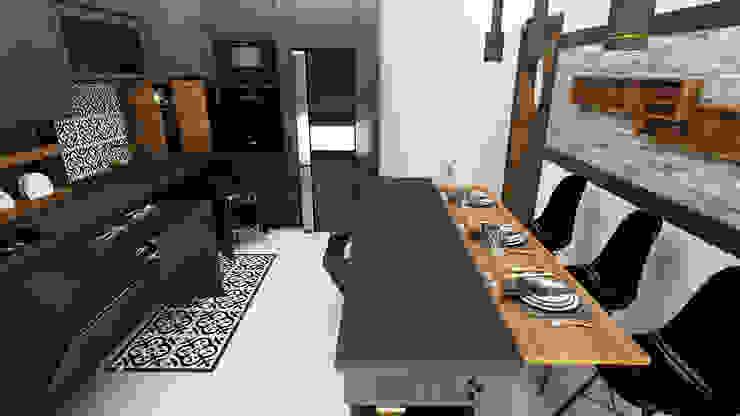 Partum Tasarım – Mutfak Dekorasyon ve Mobilya Tasarımı: modern tarz , Modern