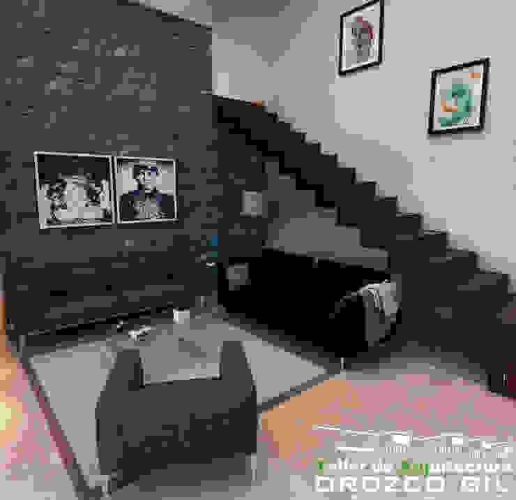 OROZCO GIL TALLER DE ARQUITECTURA Salas de estar minimalistas