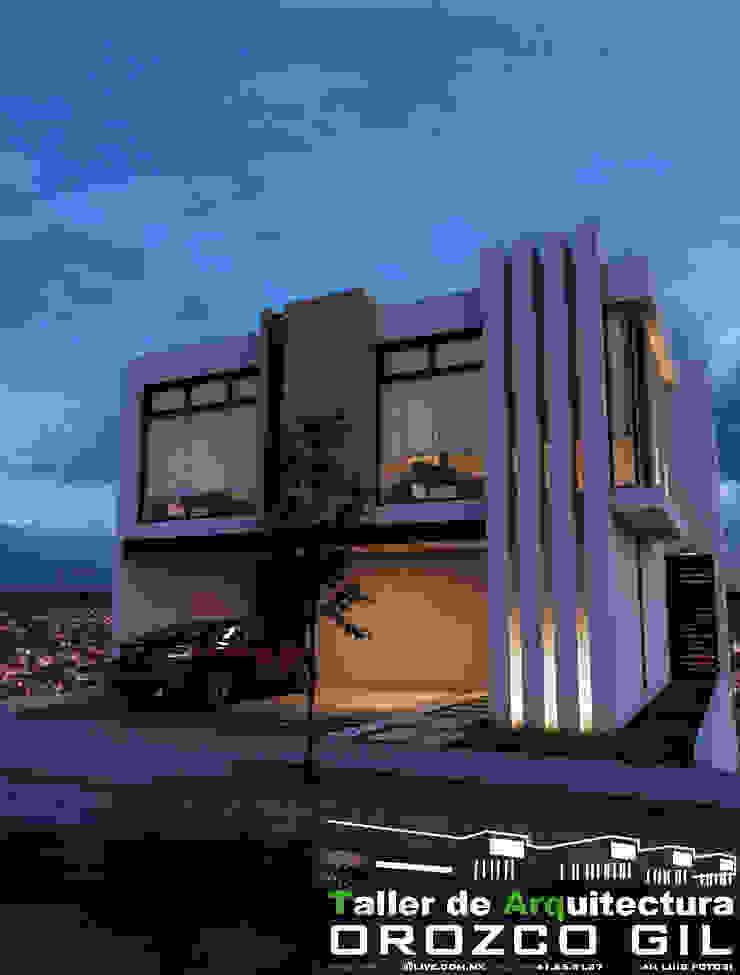 CASA MONTERRA 3 Casas minimalistas de OROZCO GIL TALLER DE ARQUITECTURA Minimalista