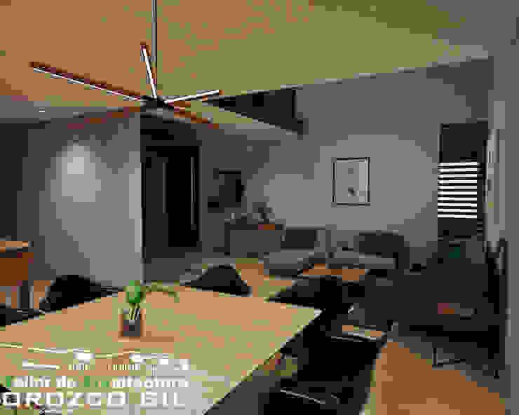 CASA MONTERRA 3 Comedores minimalistas de OROZCO GIL TALLER DE ARQUITECTURA Minimalista