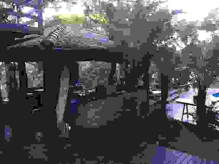 Gazebo Recyklare Projetos de Arquitetura , Restauro & Conservação Varandas, alpendres e terraços rústicos