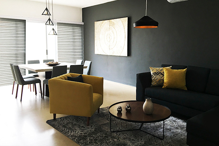 Sala / Comedor de Zoraida Zapata / Diseño Interior Clásico