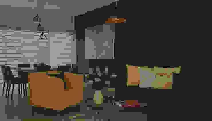 Salon Final de Zoraida Zapata / Diseño Interior Clásico