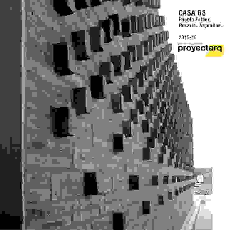 Proyectarq Casas modernas Ladrillos