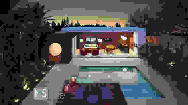Moderne huizen van MS One Arquitetura & Design de Interiores Modern