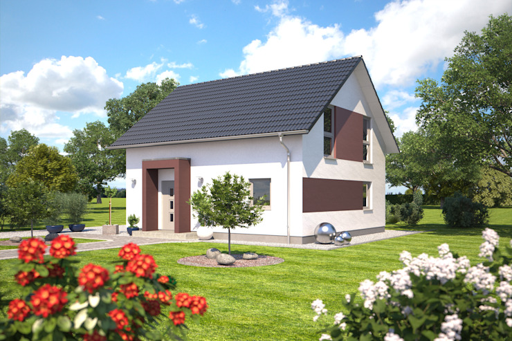 根據 Bärenhaus GmbH - das fertige Haus 古典風