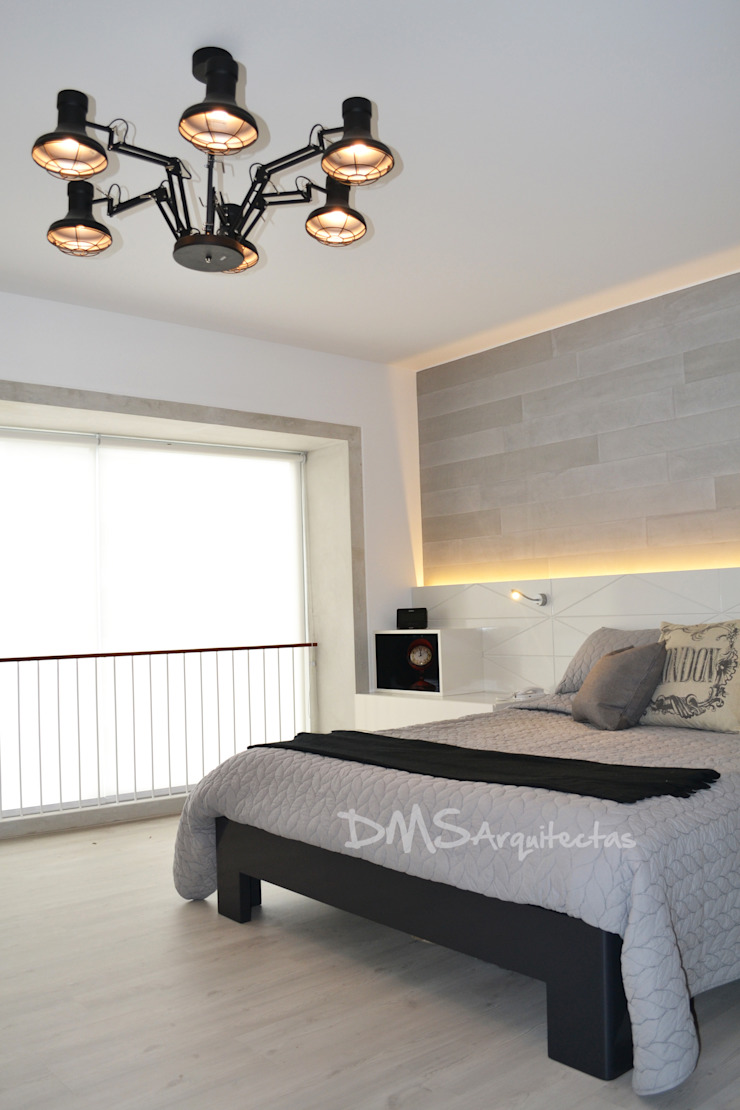 Modern Bedroom by DMS Arquitectas Modern