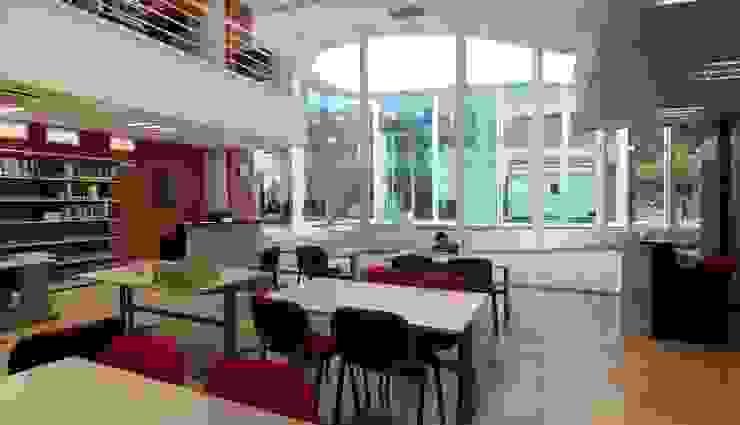 Biblioteca Central REC Arquitectura Estudios y despachos modernos