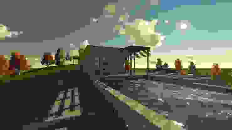 Modern Pool by CA|Arquitectura Modern