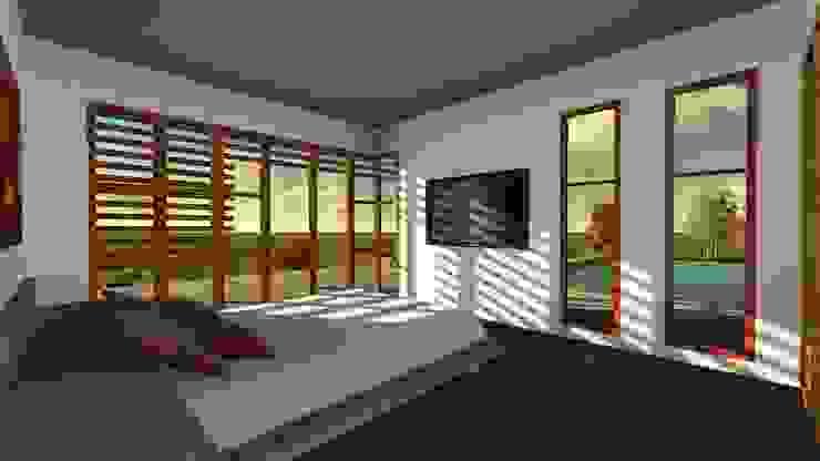 Modern Bedroom by CA|Arquitectura Modern