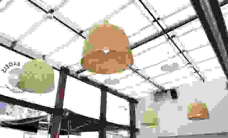 CANASTO LAMP bởi Guzman Studio Mộc mạc
