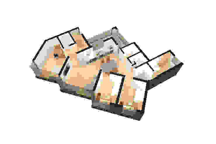 Nature Cube 모던 스타일 호텔 by Plan-B 건축 사무소 모던