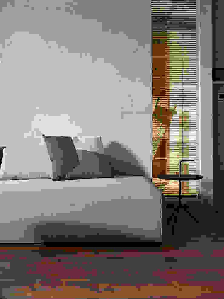 693號‧一 现代客厅設計點子、靈感 & 圖片 根據 圭侯 洪文諒空間設計 現代風