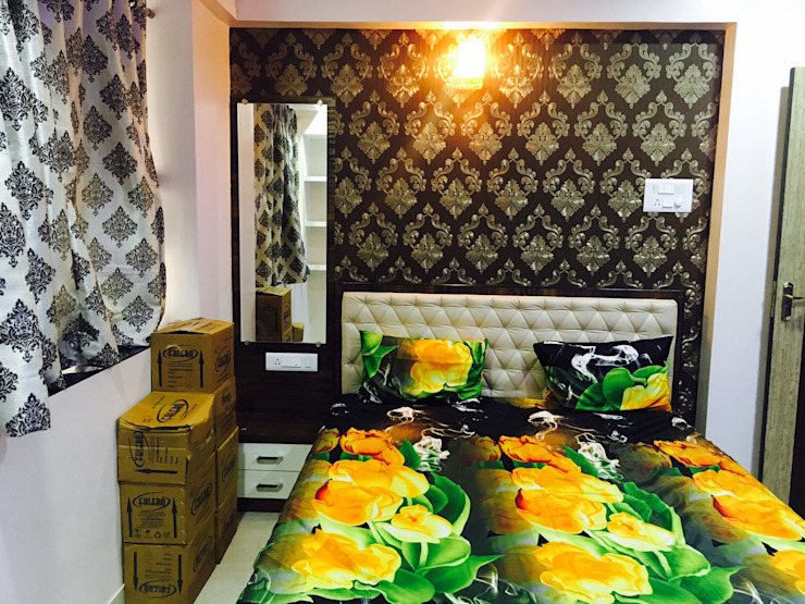 Modern style bedroom by SHARADA INTERIORS Modern