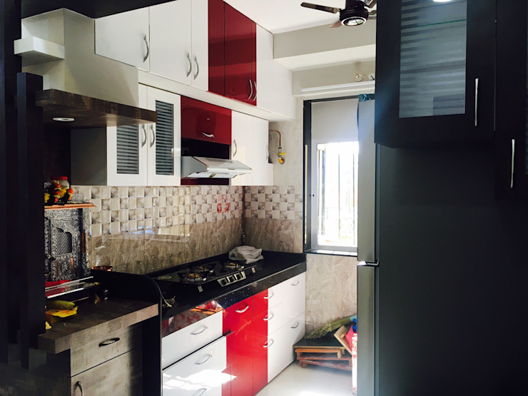 Modern style kitchen by SHARADA INTERIORS Modern