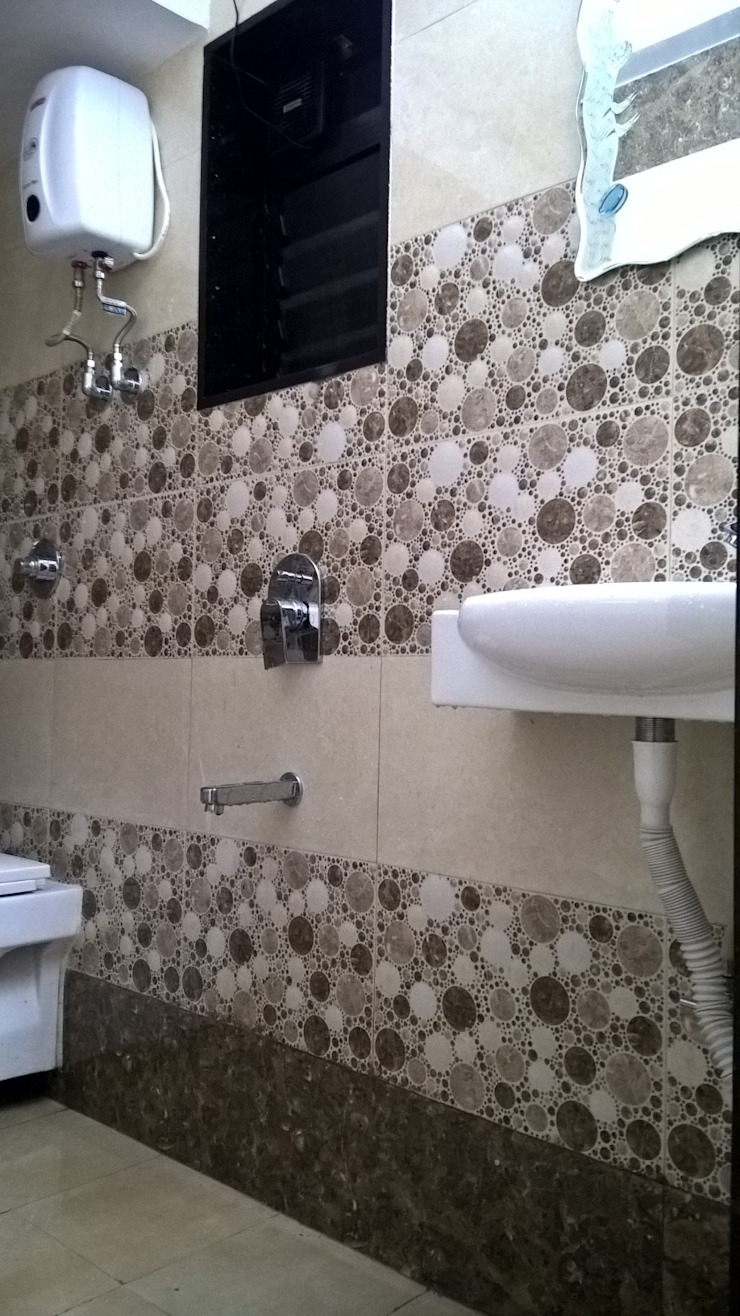 Modern style bathrooms by SHARADA INTERIORS Modern