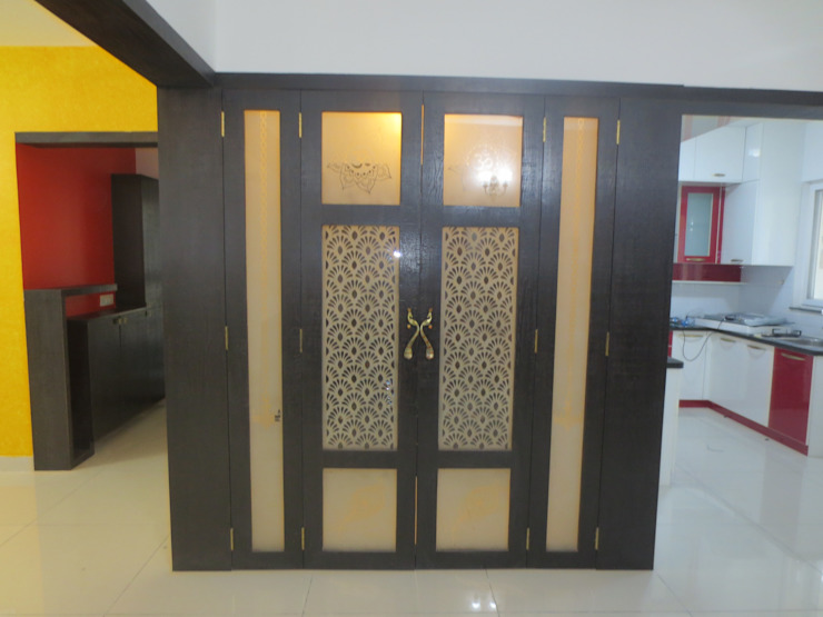 modern  door HCD DREAM Interior Solutions Pvt Ltd, Modern Glas