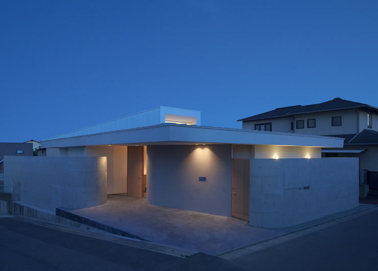 Casas de estilo  por 森裕建築設計事務所 / Mori Architect Office, Moderno