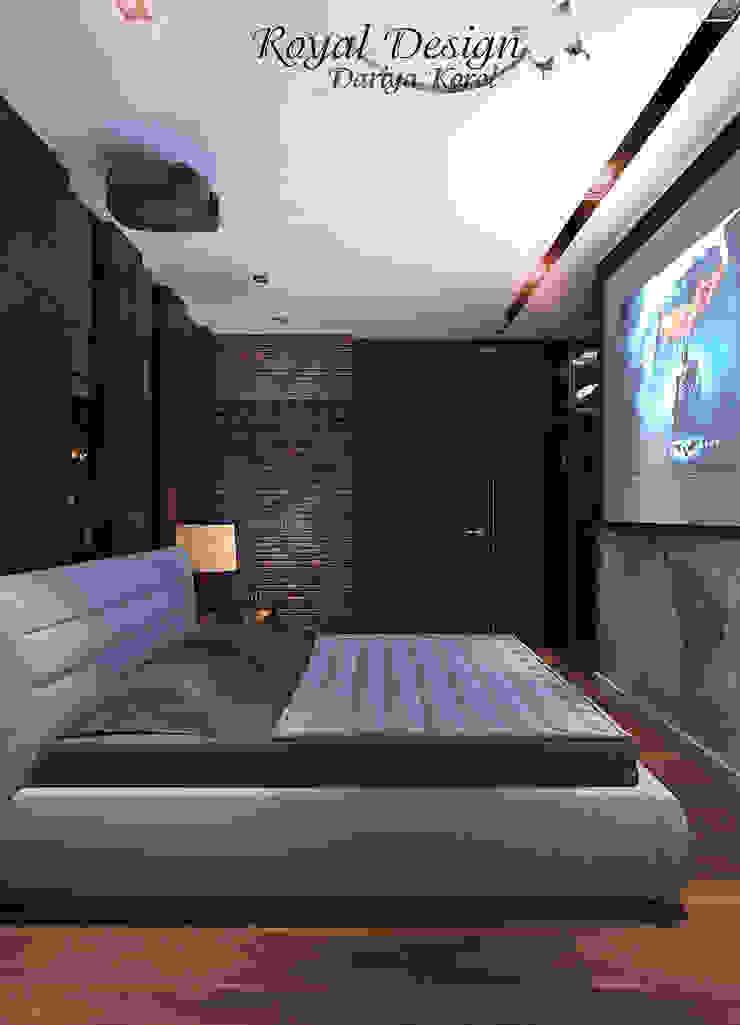 Your royal design Dormitorios de estilo industrial Gris