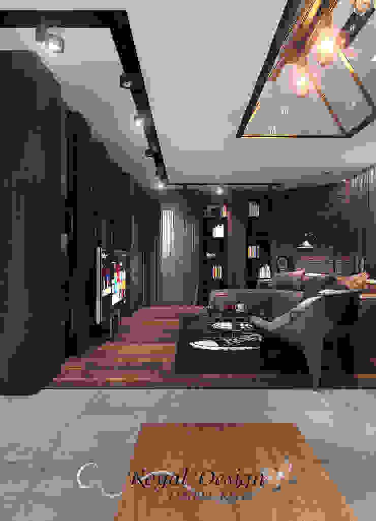 Your royal design Livings de estilo industrial Marrón